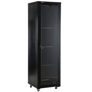 NaviaTec Network Cabinets 600mm wide x 1000mm deep Black