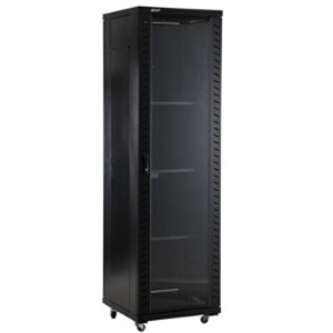 NaviaTec Network Cabinets 600mm wide x 800mm deep Black
