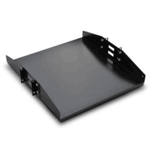 NaviaTec 19″ Double Side Shelf for Open Frame Racks