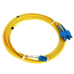 NaviaTec LC-SC SM Duplex Fiber Optic Patch Cord OS2